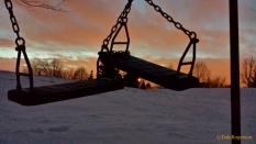 Abandoned at dusk