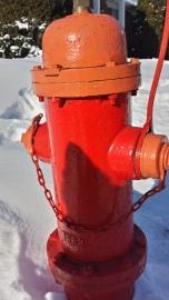 Trio of fire hydrants