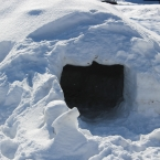 Igloo - doorway