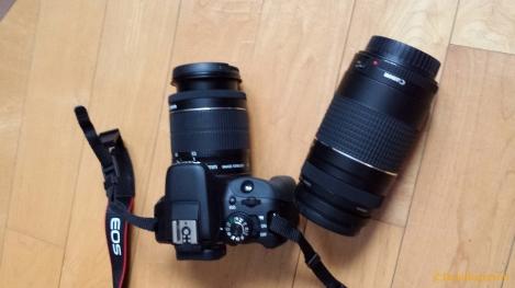 Canon Rebel EOS & extra lens