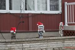 Ghoulish Santas