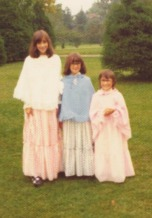 3 girls, cousin's wedding