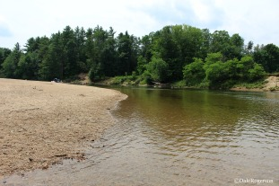 Banks of the Saco River