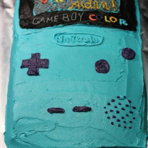 Game Boy cake
