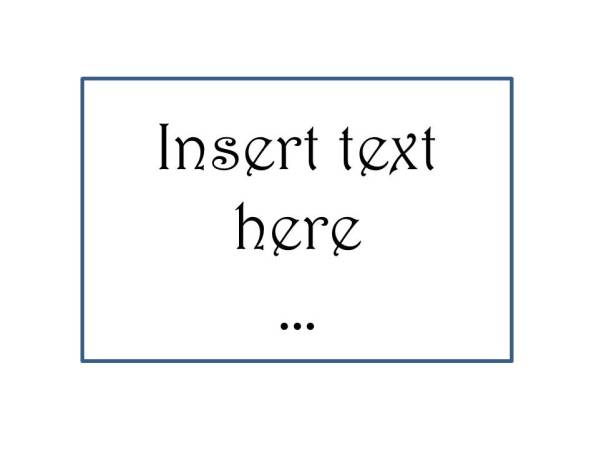 Insert TExt