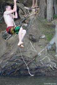 Tarzan in action