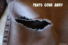Pants gone awry