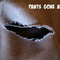 Pants gone awry