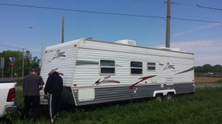 Bye bye trailer