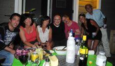 Dany, Dale, Sylvie, Marc, Caroline, Dominique, Robin