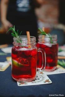 Vodka Cranberry Rosemary Cinnamon