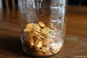 Ever decreasing pumpkin seeds