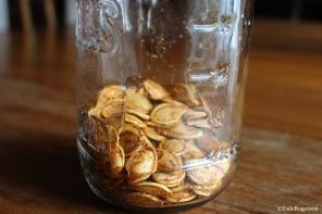 Ever decreasing pumpkin seeds