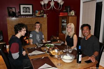 Aidan, Iain, Thalia, Paul