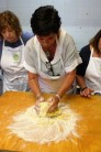 MaryEllen making cantucci dough