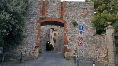 Archway into the walled city