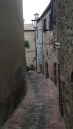 Winding cobble-stoned streets