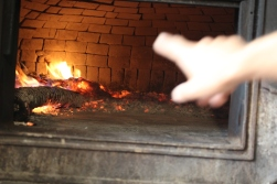 Red-hot oven