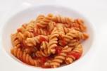 Organic pasta made on site