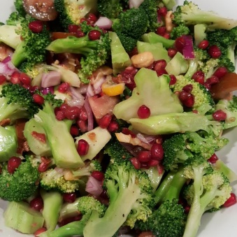 Broccoli salad - dissed!