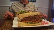 Duck confit sandwich