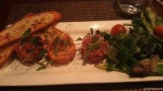 Beef, Salmon, Tuna Tartares