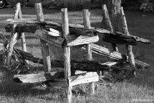 Scrap fence