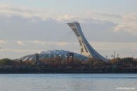 "View of the Big ""Owe"" Olympic stadium"