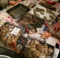 An oyster mess - yum!