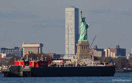 Statue of Liberty seems so close