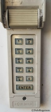 Outside Keypad