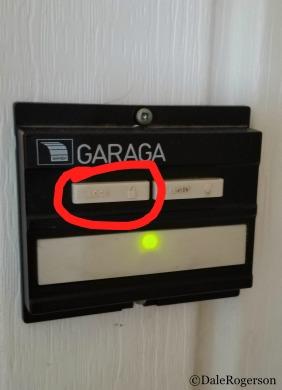 Inside Garage Door Buttons