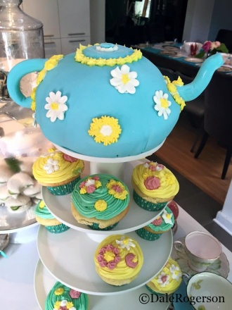 2nd shower teapot cake request
