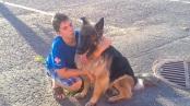 With Aidan