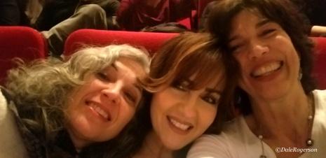 Julie, Giselle & me