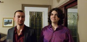 Iain and Aidan