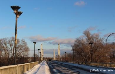 Pont de la Concorde linking St. Helen's and Notre Dame Islands