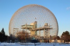 Montreal Biosphere, formerly the USA pavillion